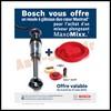 Bon Plan Bosch : Moule à Gâteaux duo coeur Mastrad® Offert - anti-crise.fr