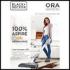 Offre d'Essai (ODR) Black + Decker : Aspirateur Balai ORA® Satisfait ou 100 % Remboursé - anti-crise.fr