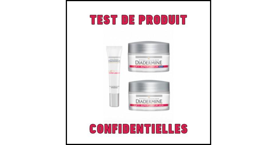 Test de Produit Confidentielles : Duo Sérum et Crème de jour Lift + Super Lisseur Diadermine - anti-crise.fr