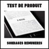 Test de Produit Sondages Rémunérés : Liseuse Electronique - anti-crise.fr