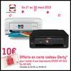 Bon Plan Epson : Carte Cadeau Darty de 10 € Offerte pour l'achat d'une imprimante - anti-crise.fr