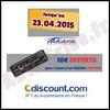 Offre de Remboursement (ODR) Takara / Cdiscount : 10€ sur Autoradio CD / MP3 / USB CDU1753 - anti-crise.fr
