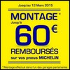 Offre de Remboursement (ODR) Michelin / Oxyo Pneus : 60 € sur Pneus - anti-crise.fr