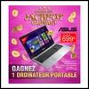 Tirage au Sort Auchan : Ordinateur Portable ASUS à Gagner - anti-crise.fr