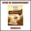 ODR : Crème Anglaise Bridélice 100 % Remboursée si achat de 2 Tablettes de Chocolat - anti-crise.fr