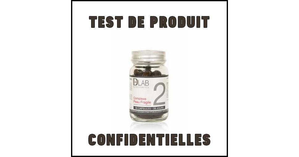 Test de Produit Confidentielles : Complexe Peau Fragile de D-Lab - anti-crise.fr