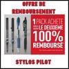 Offre de Remboursement (ODR) Pilot : 2ème Pack 100 % Remboursé - anti-crise.fr