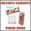 Instants Gagnants Kinder Bueno Dark : Lot de Magnets Personnalisables à Gagner - anti-crise.fr