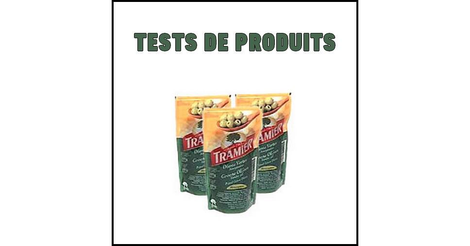 Tests de Produits : Olives vertes dénoyautées Tramier - anti-crise.fr