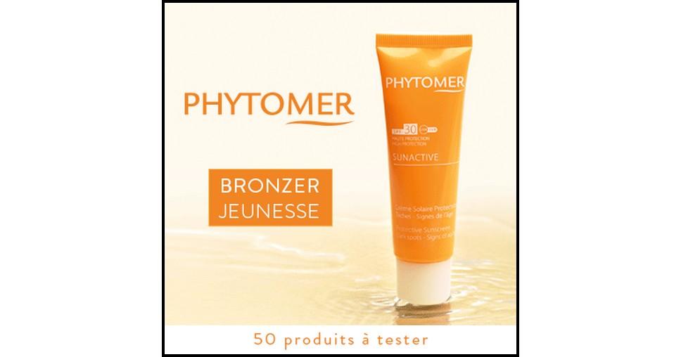 Test de Produit Beauté Test : SunActive SPF 30 Crème Solaire Protectrice Phytomer - anti-crise.fr