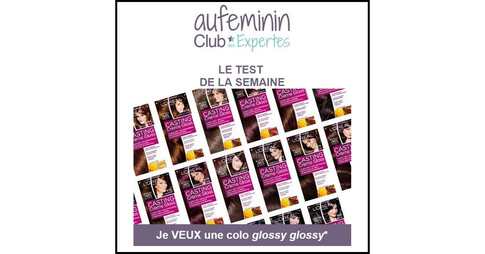 Test de Produit Au Féminin : Coloration Casting Crème Gloss Brunes / Noires 300 Châtain Foncé Corsé de L'Oréal Paris - anti-crise.fr