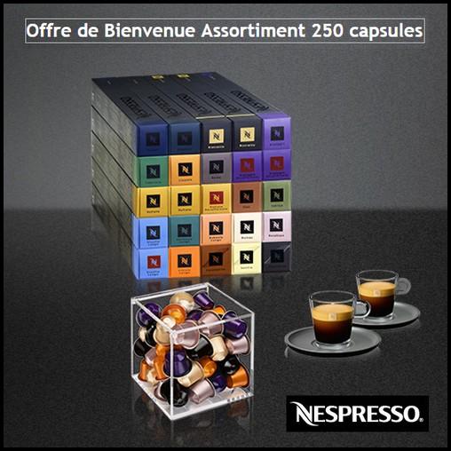 Bon Plan Nespresso : Le Cube et un Set de Tasses Glass Offerts - anti-crise.fr