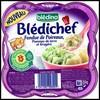 Test de Produit Blédina : Assiette « Fondue de poireaux, Pommes de terre et gruyère » Bledichef - anti-crise.fr
