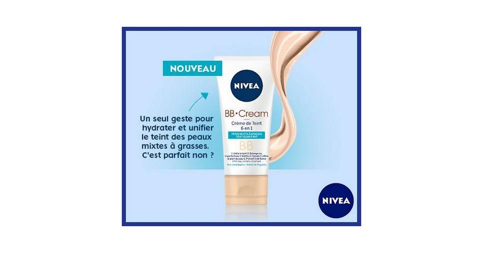 Test de Produit Nivéa : BB Cream Peaux Mixtes à Grasses - anti-crise.fr