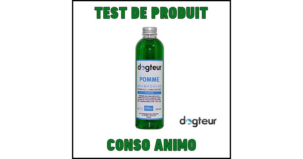 Test de Produit Conso Animo : Shampooing pour chien à la Pomme Dogteur - anti-crise.fr