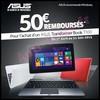 Offre de Remboursement (ODR) Asus : 50 € sur Transformer Book T100 - anti-crise.fr
