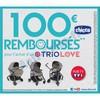 Offre de Remboursement (ODR) Chicco : 100 € sur Trio Love - anti-crise.fr