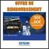 Offre de Remboursement (ODR) Epson : 60 € sur Imprimante + Cartouches - anti-crise.fr