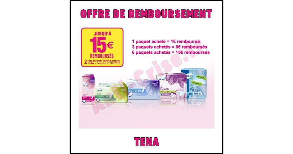 Offre de Remboursement (ODR) Téna : Jusqu'à 15€ remboursés sur vos produits - anti-crise.fr