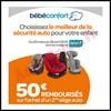 Offre de Remboursement (ODR) Bébé Confort : 50 € sur le 2ème Siège Auto - anti-crise.fr