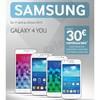 Offre de Remboursement (ODR) Samsung : 30 € sur Smartphone Galaxy 4 you - anti-crise.fr