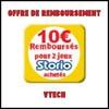 Offre de Remboursement (ODR) VTech : 10 € sur 2 Jeux Storio Achetés - anti-crise.fr