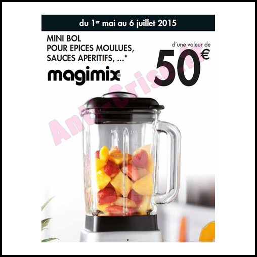 best wholesaler outlet store reasonable price Bon Plan Magimix : Un Mini Bol Offert pour 1 € de Plus ...