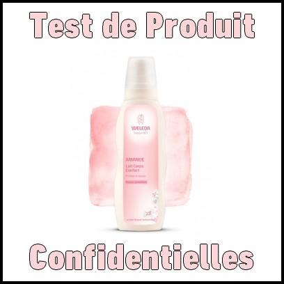 Test de Produit Confidentielles : Lait de corps à l'amande douce de Weleda - anti-crise.fr