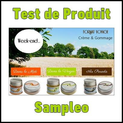 Test de Produit Sampleo : Kit week-end Terre de Cocagne - anti-crise.fr