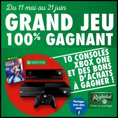 Instants Gagnants  Reghalal : Console Xbox One et Bons de Réduction de 1 € à Gagner - anti-crise.fr