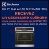 Bon Plan Electrolux : Un Accessoire Culinaire Offert pour l'Achat d'un Four Vapeur - anti-crise.fr