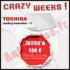 Offre de Remboursement Toshiba : 100 € sur Ordinateur Portable - anti-crise.fr