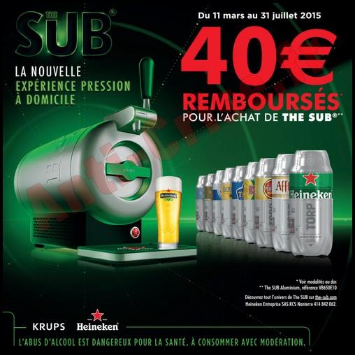 offre de Remboursement (ODR) Krups : 40 € sur The SUB Aluminium - anti-crise.fr