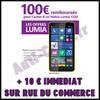 Bon Plan chez Rue du Commerce : 110 € sur Smartphone Nokia Lumia 1320 - anti-crise.fr