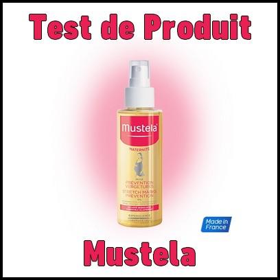 Test de Produit Mustela : Huile Prévention Vergetures - anti-crise.fr
