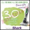 Offre de Remboursement Shark : 30 € sur Sonic Duo - anti-crise.fr