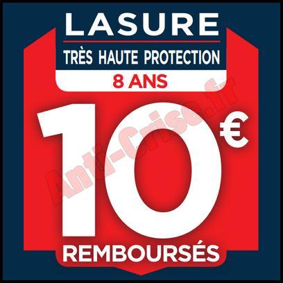 Offre de Remboursement Bondex / Castorama : 10 € sur Lasure Très Haute Protection - anti-crise.fr