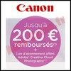 Offre de Remboursement (ODR) Canon : 200 € sur Différents Produits - anti-crise.fr