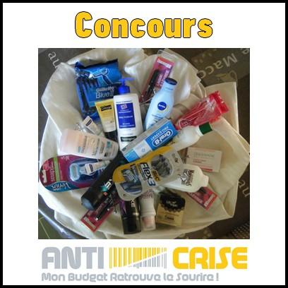 Concours Anti-Crise.fr : Lot de Produits de Beauté à Gagner - anti-crise.fr