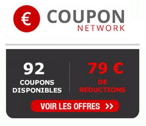 nouveaux bons de reduction sur coupon network