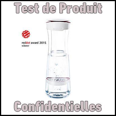 Test de Produit Confidentielles : Brita Fill&Serve Bouteille Filtrante Graphite Ultra Design - anti-crise.fr