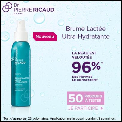 Test de Produit Beauté Test : Brume Lactée Ultra-Hydratante de Dr Pierre Ricaud - anti-crise.fr