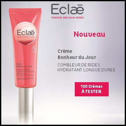 Test de Produit Beauté Test : Crème Bonheur du Jour de Eclaé - anti-crise.fr