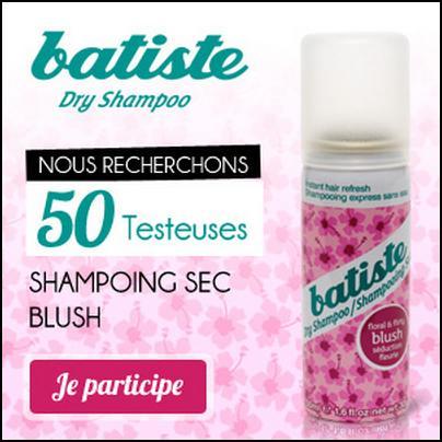 Test de Produit Betrousse : Shampoing Sec Blush Bastide - anti-crise.fr