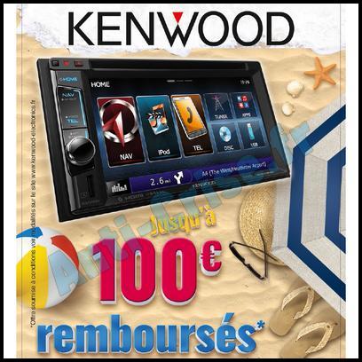 Offre de Remboursement Kenwood : 100 € sur Autoradio - anti-crise.fr