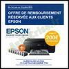 Offre de Remboursement Epson : Imprimante photo EPSON SC-P600 + Encre - anti-crise.fr
