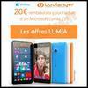 Offre de Remboursement Boulanger / Microsoft : 20 € sur Smartphone Lumia 535 - anti-crise.fr
