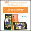 Offre de Remboursement Nokia : 50 € sur Smartphone Lumia 635 - anti-crise.fr