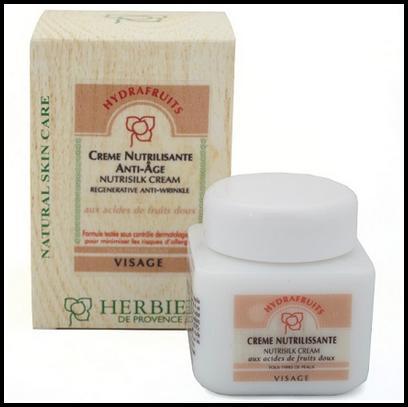 Test de Produit Sampleo : Crème Nutrilissante Hydrafruits Herbier de Provence - anti-crise.fr