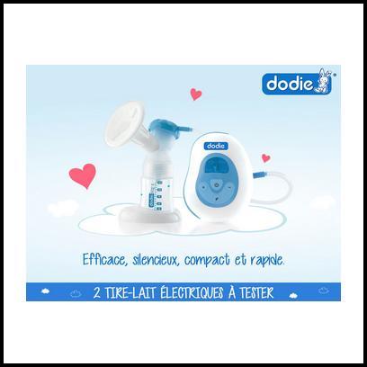 Test de Produit Conso Baby : Tire-lait électrique Dodie - anti-crise.fr